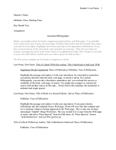 annotated bibliography template annotated bibliography template 3 1