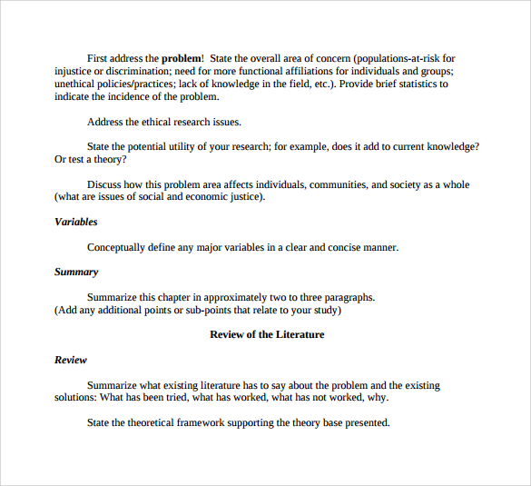 apa outline template