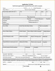 apartment application form apartment rental application form appform jpg