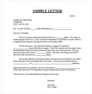 apartment lease termination letter best example for early lease termination letters