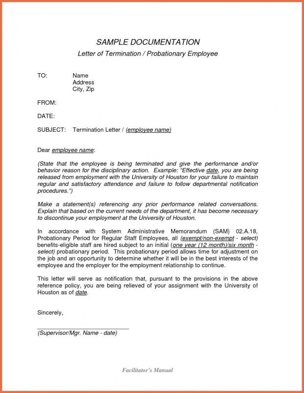 Apartment Lease Termination Letter Template Business - Month to month lease termination letter template