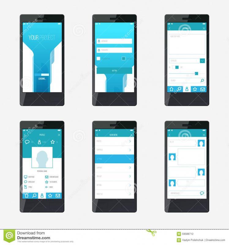 app design template