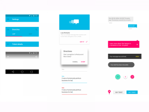 app designs templates material design ui kit sketch
