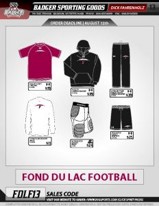 apparel order form augdeadlinefootballapparelorderforms