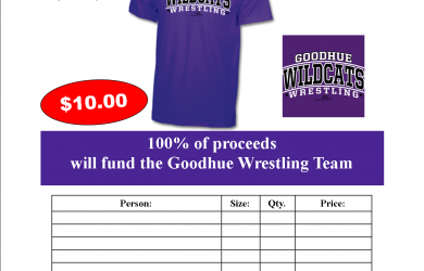 apparel order form template fundraiser tee