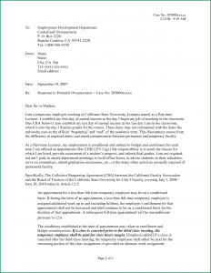 appeal letter sample employer letter to appeal unemployment