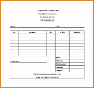 application for employment template example of receipt sample restaurant receipt template in excel