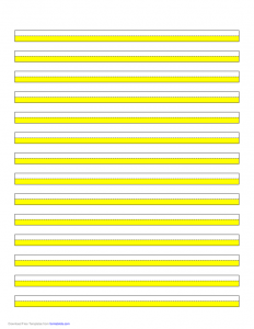 application for employment template highlighter paper yellow lines l