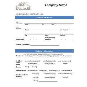 application form template job application form template