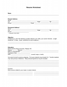 application form templates blank resume layout form for job application