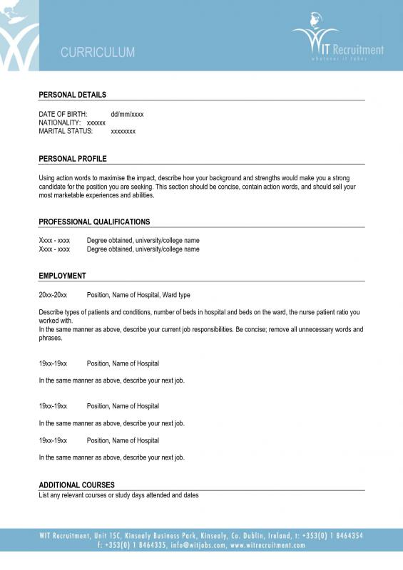 application form templates