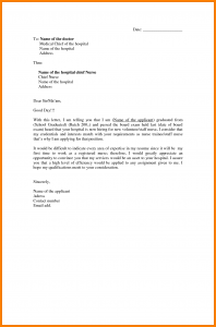 application letter format sample of an application letter for nursing application letter for nurses