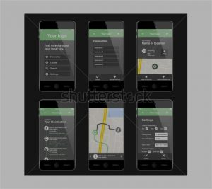 apps design template mobile app layout designs