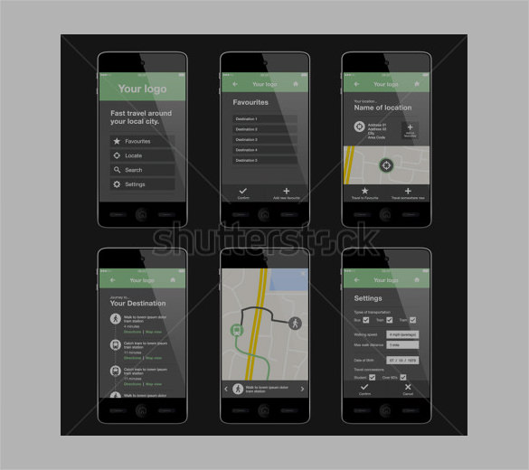 apps design template