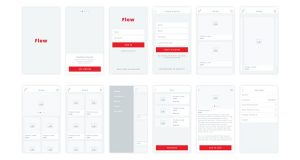 apps design templates mobile app ios iphone ipad design wireframe free template