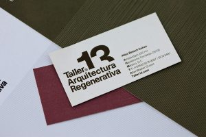 architecture business cards taller regenerative architecture