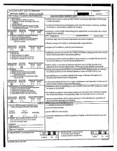 army initial counseling examples ncoer
