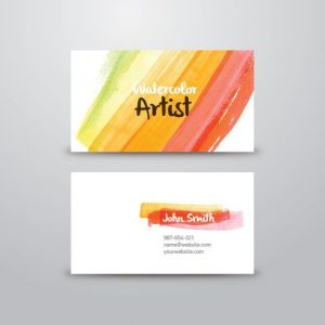 artist business card ccaafcdfacfecfaaebb painter logo design artist business cards
