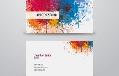 artist business cards 00b5a86cfe91e62c789d19a3acb812da free business card templates free business cards