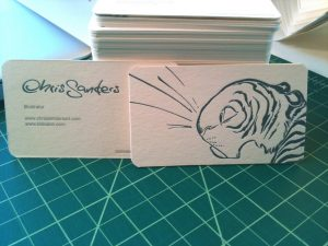 artist business cards chris sanders business cards