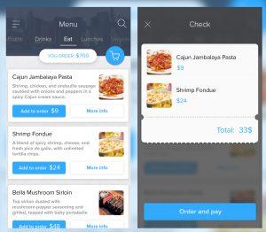 artist website templates food menu l