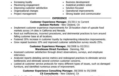 assistant store manager resume customer experience retail manager resume sample summary highlights