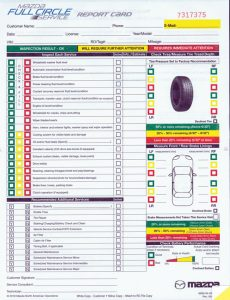 automobile bill of sale template multi point inspection forms mazda lg id