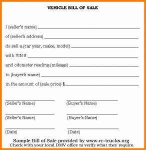 automotive bill of sale template basic bill of sale for car car bill of sale printable