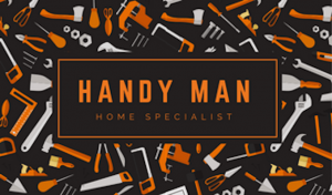 automotive business card handyman businesscard