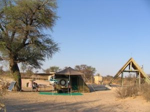 automotive business card w mabuasehube camp ktmab showertoiletwater shade shelter lesholoago site
