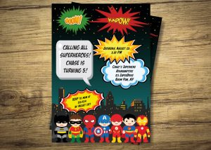 avengers birthday invitations il fullxfull sp