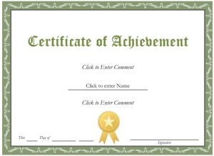 Great Award Certificate Template Free Award Certificate Template Hibsst Intended For Award Paper Template