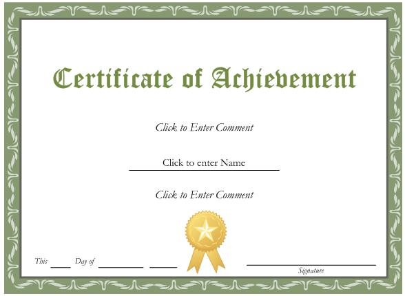 Award certificate template free template business award certificate template free yadclub Image collections