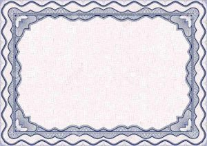 award ribbon template award certificate border template