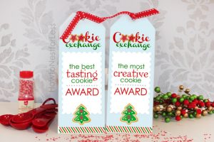 award ribbon template cookie exchange winner ribbons