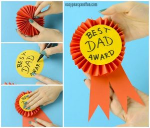 award ribbon template paper award ribbon fathers day craft