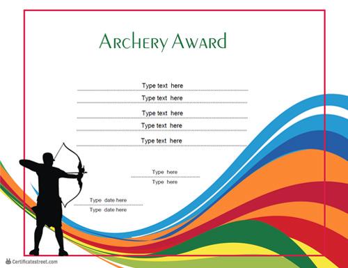 award templates free