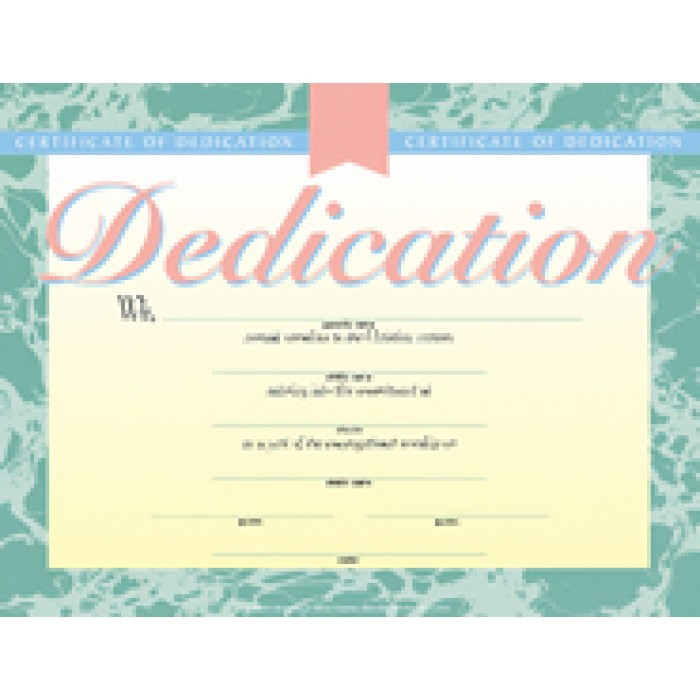 Baby Dedication Certificates Templates  OloschurchtpCom
