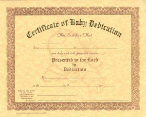 baby dedication certificate cerebab
