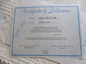 baby dedication certificate il fullxfull hln