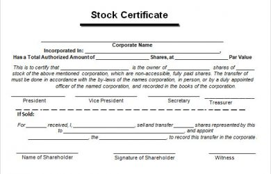 baby dedication certificates stock certificate form