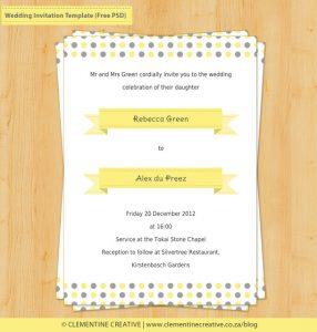 baby shower flyer wedding invitation template free psd