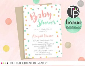 baby shower invitations that can be edited il xn vjq