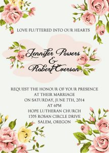 bachelorette invitations template inexpensive elegant coral spring flowers wedding invitation ewi