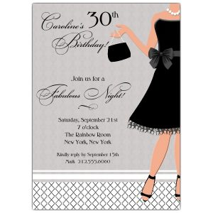 bachelorette party invitation template lbd z