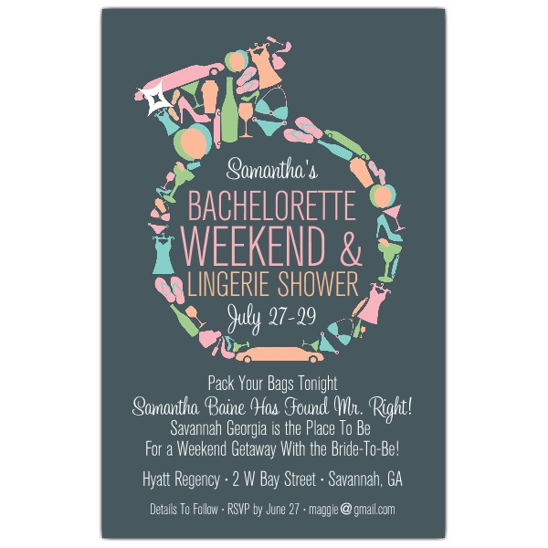 Bachelorette Party Invitation Template Template Business