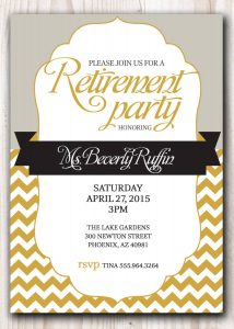 bachelorette party invitation template retirement party invitation template microsoft