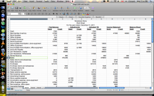 balance sheet example excel cash flow statement worksheet