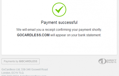 bank statement example payment successful gocardless sandbox gocardless com api v payment success