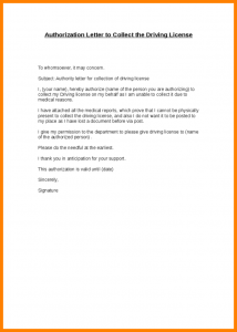 bank statement template authorization letter to collect certificate